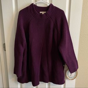 Woman Within Chunky Knit Sweater 26/28